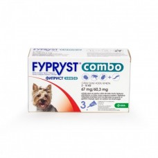 Fypryst Combo Dog S 67 mg (2 - 10 kg), 1 pipeta