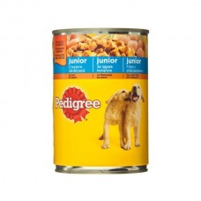 Hrana caini Pedigree junior pui in aspic 400 g